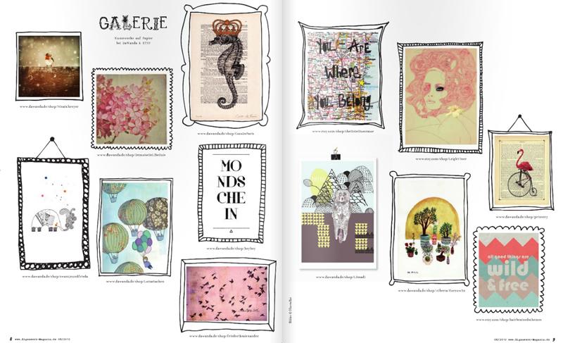 Eigenwerk-Magazin Demoiselle Libellule
